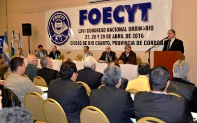 LXVI Congreso Ordinario de FOECYT – Río Cuarto