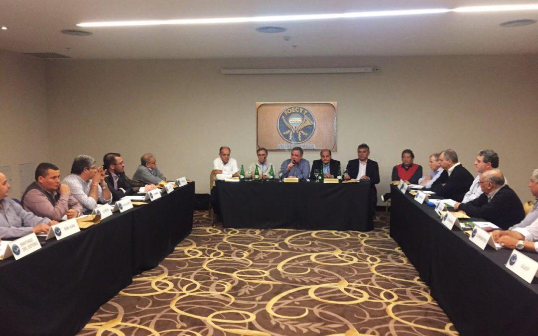 El Cuerpo Federativo Nacional se reunió en Tucumán