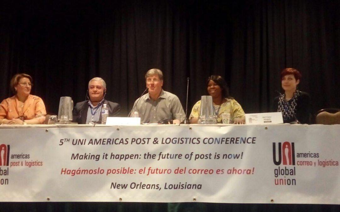 Alberto Cejas fue electo vicepresidente de UNI Américas Postal & Logística