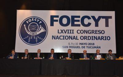 El LXVIII Congreso Nacional de FOECYT se declaró en estado de Alerta y Movilización