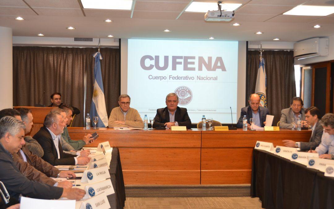 El Cuerpo Federativo Nacional se reunió en Buenos Aires