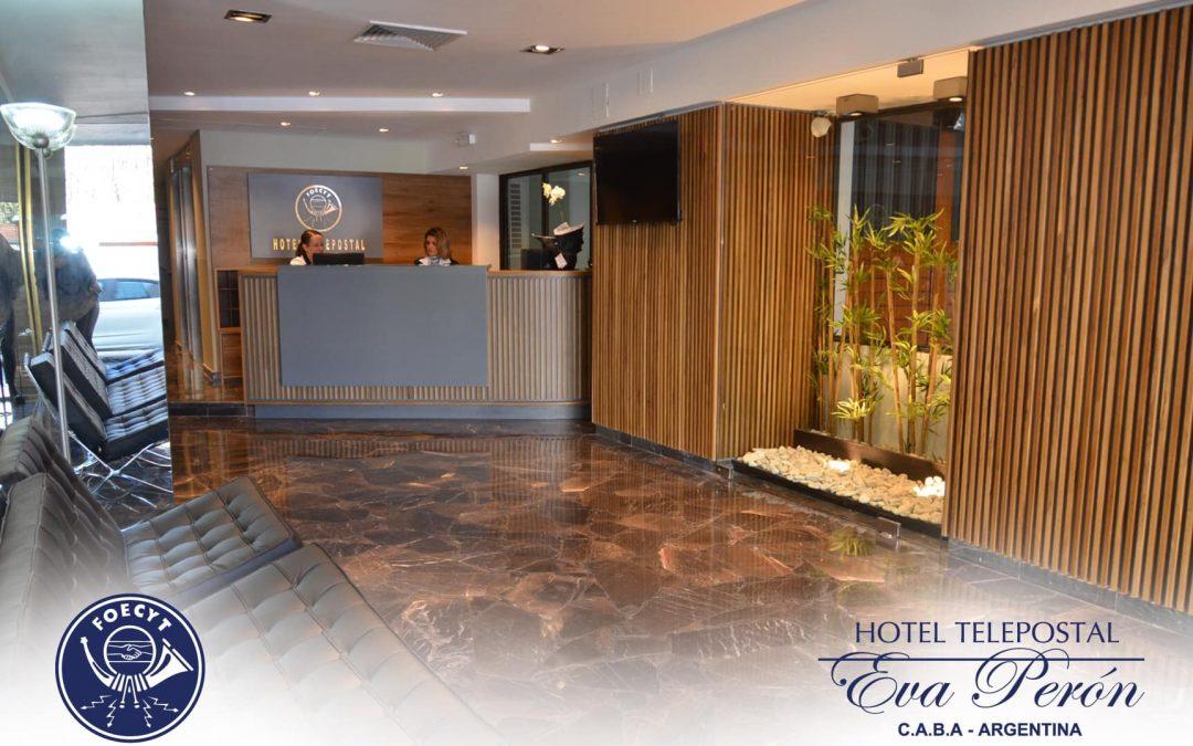 Nuevo Hotel Telepostal Eva Perón