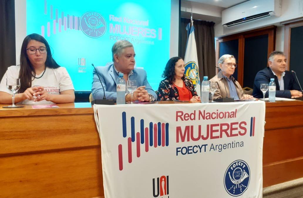 Horas sororas en FOECYT.    2° Encuentro de la Red en Buenos Aires.