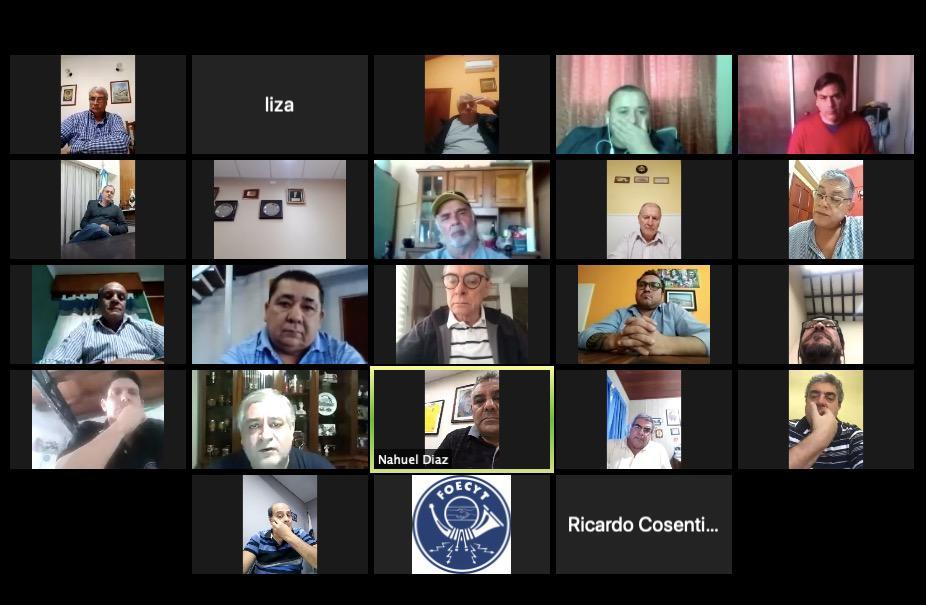 FOECYT reunió su Cuerpo Federativo Nacional con modalidad virtual.