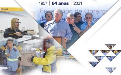 64 años defendiendo al trabajador telepostal