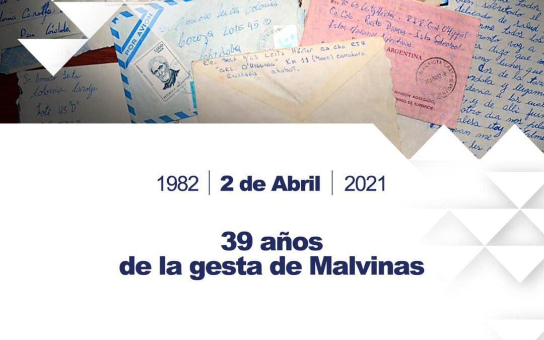 2 de Abril. Conmemoración Guerra de Malvinas.